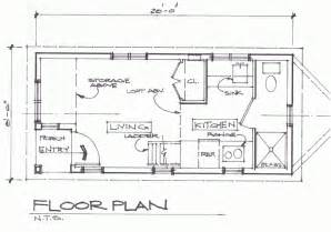 Floor Plans For Cabins by Cottage Floor Plan Tiny House