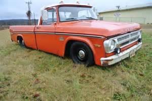 1971 Dodge Truck Buy Used 1971 Dodge Sweptline Truck Rat Rod Barn