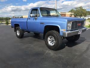 gmc k1500 1984 c k1500 1500 4x4 truck lifted chevy