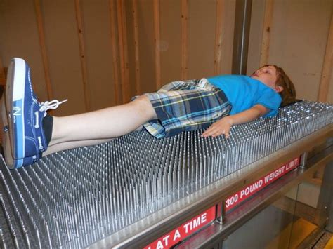 Bed Of Nails Reviews by Enjoyable Bed Of Nails Picture Of Museum Of Science