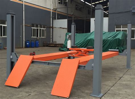 Car Lift Low Ceiling by Aa4c 4 Post Low Ceiling Car Lift Table Buy Car Lift Hydraulic 4 Post Car Lift Car Lift Table