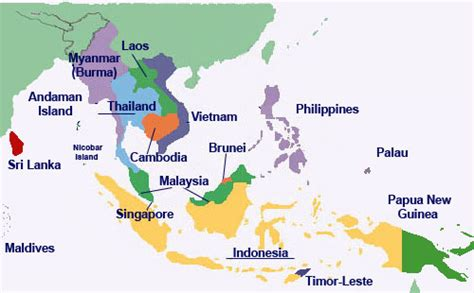 east asian countries map discover southeast asia south east asia dreams