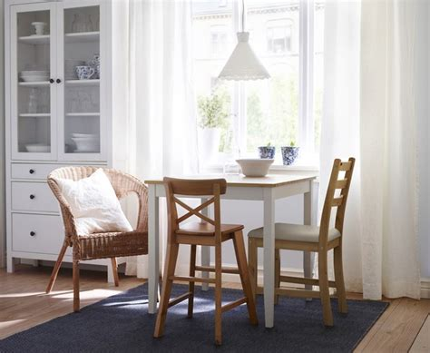 small breakfast nook furniture lerhamn table light antique stain white stain stains