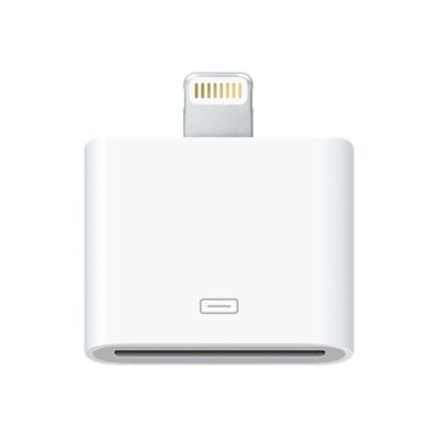 Apple 30 Pin To 8 Pin Lightning Converter Adapter Putih apple 30 pin to 8 pin lightning converter adapter white