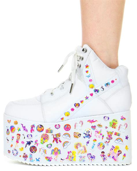 personalized platform kicks tall platform sneaker