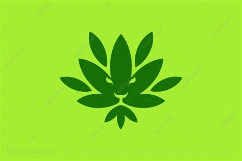 cannabis lion king logo