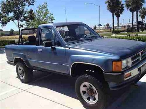 86 Toyota 4x4 Purchase Used 1989 Toyota 4x4 4runner 4wd 1st Generation
