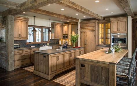 cuisine contemporaine bois en 75 propositions de design