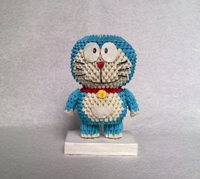 cara membuat origami doraemon 3d 17 best images about 3d origami d on pinterest origami