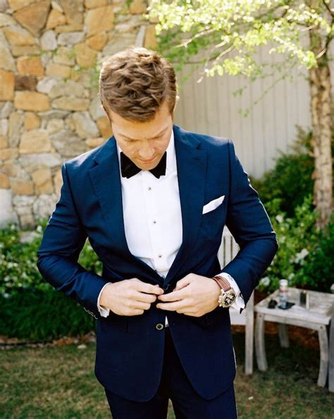 Best 25  Navy suit groom ideas on Pinterest