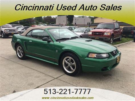 2001 ford mustang value 2001 ford mustang convertible for sale in cincinnati oh