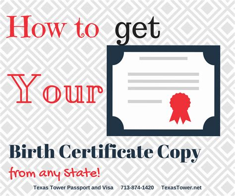 City Of Dallas Birth Certificate Records How To Get Your Birth Certificate Copy From Any State Tower 24 Hour Passport