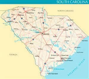 map of carolina and south carolina beaches map of island in relation to carolina