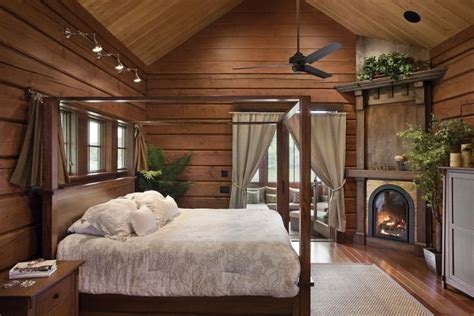 log home bedrooms bedroom and bathroom timber log home photo gallery