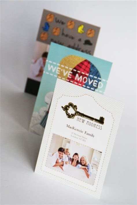 Changing Picture Card Template by 10 Best Images About Change Of Address Cards Photo