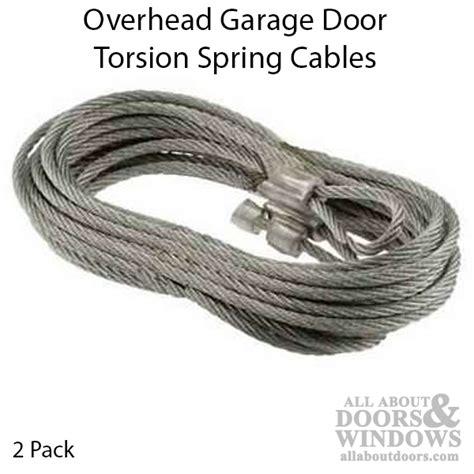 overhead door torsion springs torsion cables overhead garage doors 2 pack
