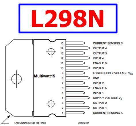 transistor w10nk80z l298n datasheet dual h bridge motor controller st
