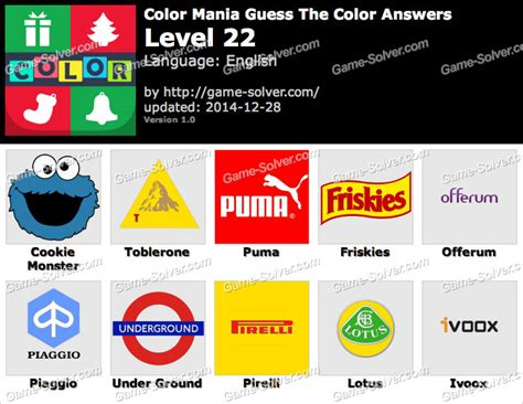 guess the color answers color mania guess the color level 22 solver