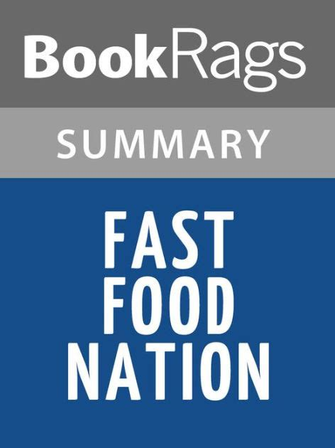 Fast Food Nation Essay by Fast Food Nation By Eric Schlosser L Summary Study Guide By Bookrags Nook Book Ebook