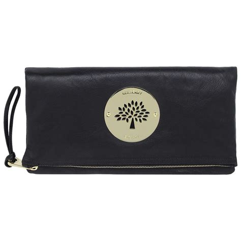 Mulberry For Giles Clutch Bag As Seen On Macdonald At Mojo Awards lyst mulberry clutch in black
