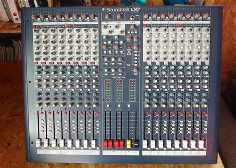 Mixer Lx7ii soundcraft lx7ii 16 image 751028 audiofanzine