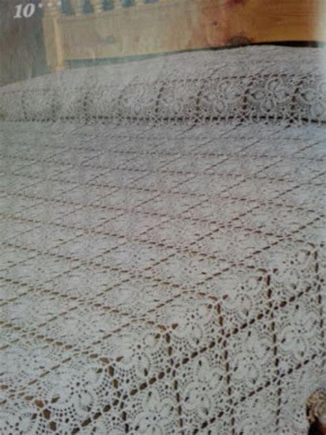 copriletto uncinetto uncinetto copriletto a mattonelle quadrate sul filo di
