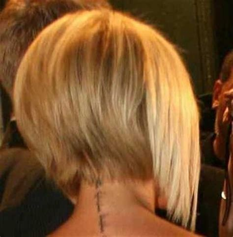 back view of short bob haircuts bob hairstyles 2017