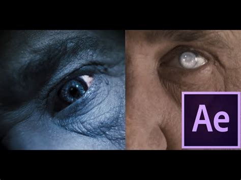 tutorial zombie after effects after effects tutorial zombie or cataract eyes youtube