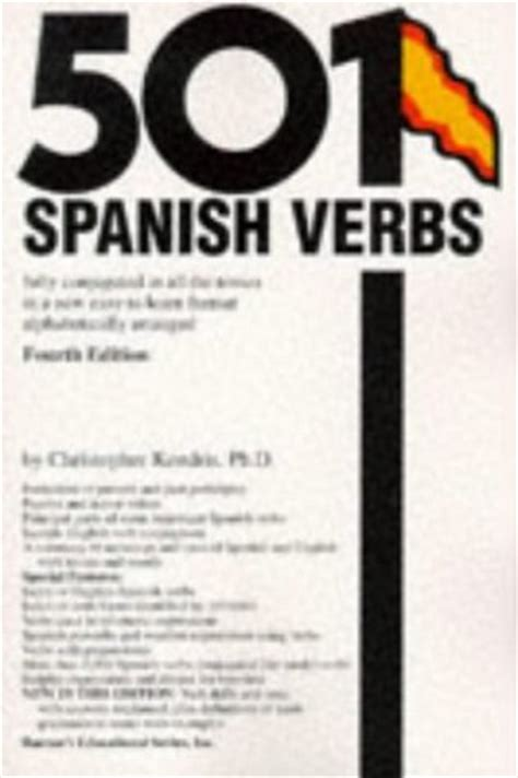 501 spanish verbs 501 143800916x 501 spanish verbs fully conjugated in all the tenses in a new easy to learn format
