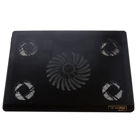 Notebook Cooling Pad Computer 4 Fan S60 Black cooling pad 5 fan for notebook laptop black