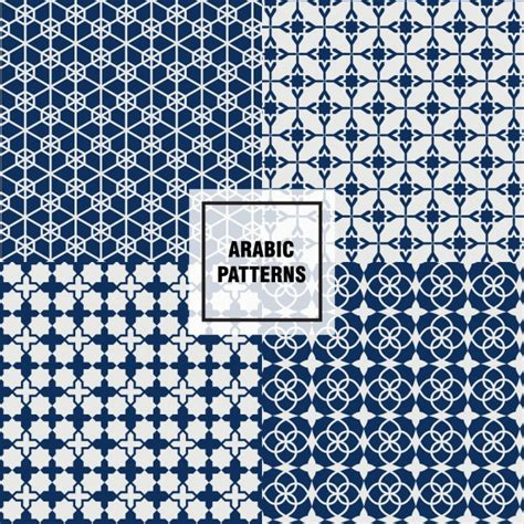 arabic pattern ai beautiful arabic patterns vector free download