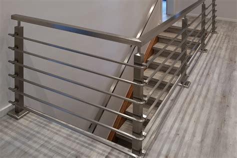 edelstahlgeländer treppenhaus indoor edelstahl gel 228 nder nappenfeld edelstahl