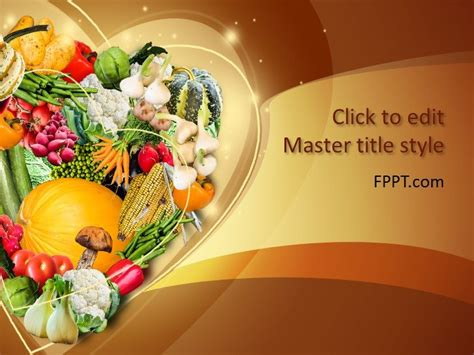 Free Food Powerpoint Templates Food Powerpoint Templates Free