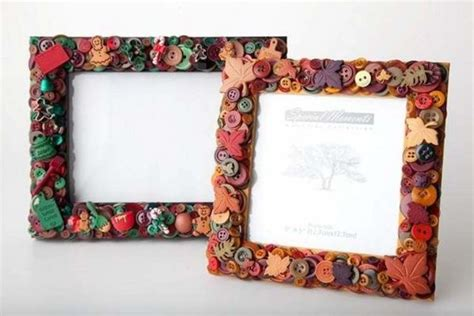 Handmade Picture Frames - 23 most creative handmade gift ideas pouted