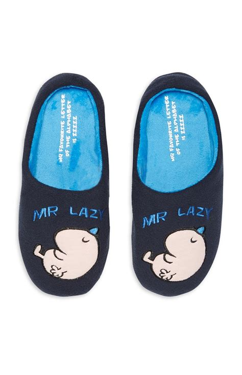 primark slippers luxury mr lazy slipper by primark