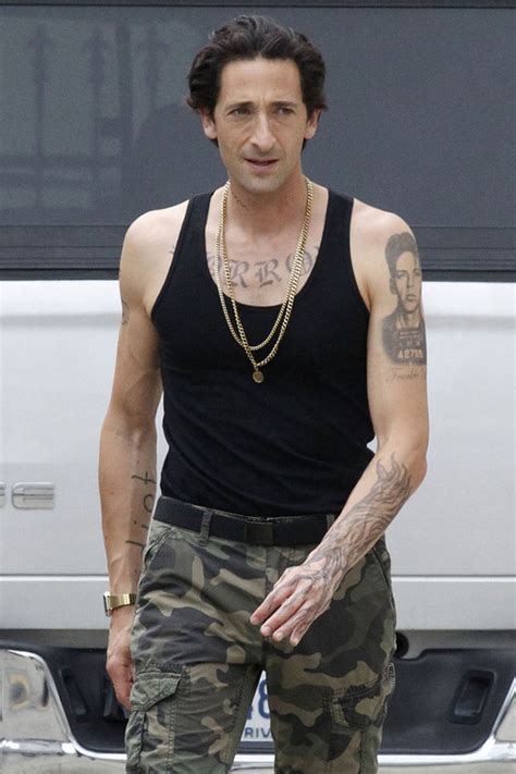 adrien brody dons manly in shooting new film china org cn