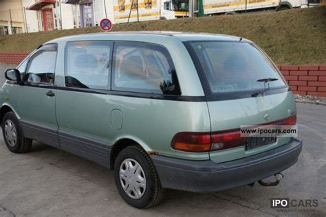 1997 toyota previa 8 seater car photo and specs