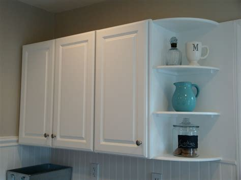 kitchen cabinet corner shelf remodelaholic kitchen backsplash tiles now beadboard