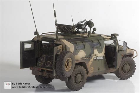 gaz tigr gaz 233014 sts tiger armored vehicle meng model vs 003