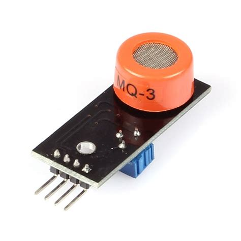 Sensor Gas Mq 3 Mq3 For Ethanol Gas Sensitive Detection Alar sainsmart mq3 gas sensor module for lpg propane hydrogen