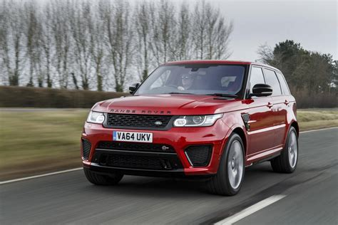red range rover 2016 range rover sport svr review gtspirit