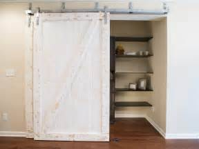 white sliding barn door photos hgtv
