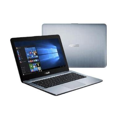 blibli asus jual asus x441na bx002d notebook silver n3350 2gb
