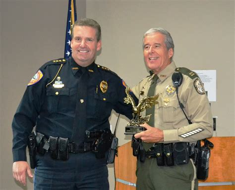 Fwc Officer by Fwc Captain Denis Grealish Honored By Southwest Florida