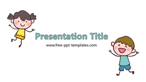 kid friendly powerpoint templates child powerpoint template
