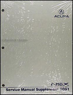 service manuals schematics 2001 acura nsx on board diagnostic system 2001 acura nsx repair shop manual original supplement