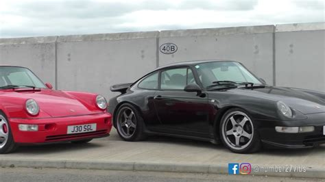 porsche 964 vs 993 964 vs 993 battle of the air cooled rs clones flatsixes