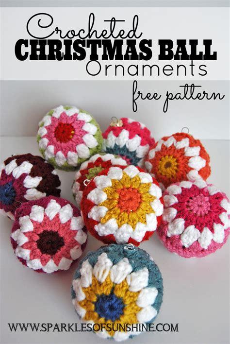crochet patterns ornaments crocheted ornaments free pattern sparkles