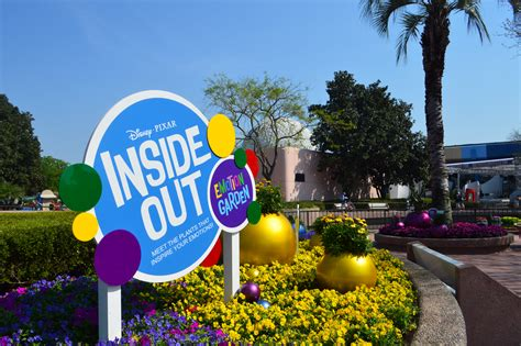 Inside Out Garden at EPCOT   SparklyEverAfter.com