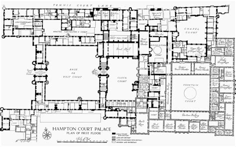 hton court palace floor plan plan 2 hton court palace first floor british history
